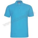 BLANKKING/纯色大王 短袖纯棉POLO衫 1AC03 S 湖蓝色 1件 销售单位:件