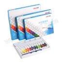 得力 水彩颜料 73860-18 18色 销售单位:盘