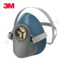 3M 硅胶呼吸防护半面具 HF-52 中/大号 1个 销售单位:个