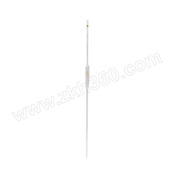 TIANBO/天玻 胖肚移液管 单标线吸量管(A级EX) 20mL 10个 1盒