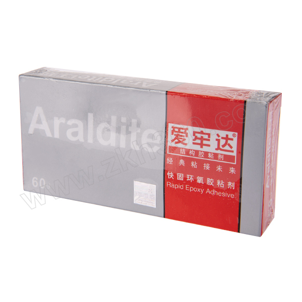 ARALDITE/爱牢达 快固环氧胶粘剂 RAP-EPOXY 2012 DIY牙膏装 重量比A:B=1:1 60g 1盒