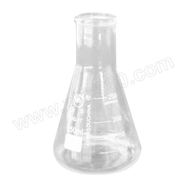 SHUNIU/蜀牛 直口(大B)三角烧瓶 300mL×10个 1盒