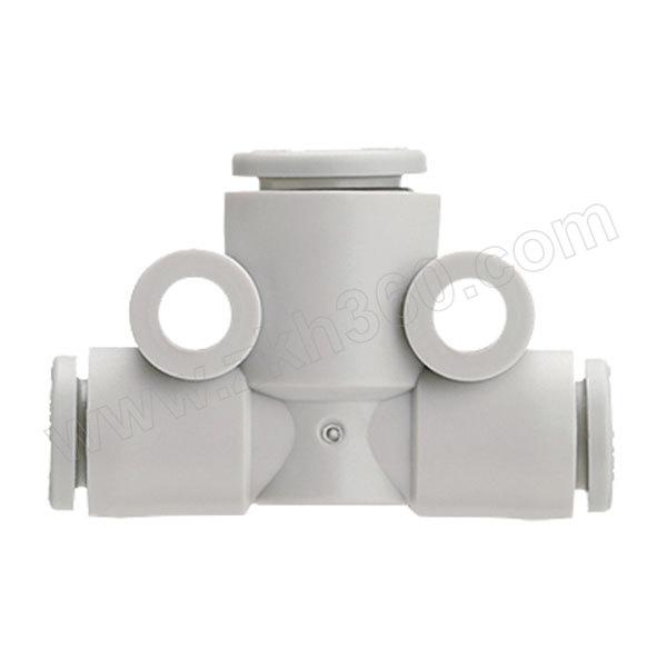 SMC KQ2T系列三通接头 KQ2T08-00A 塑料接头 快插8mm-快插8mm-快插8mm 1个