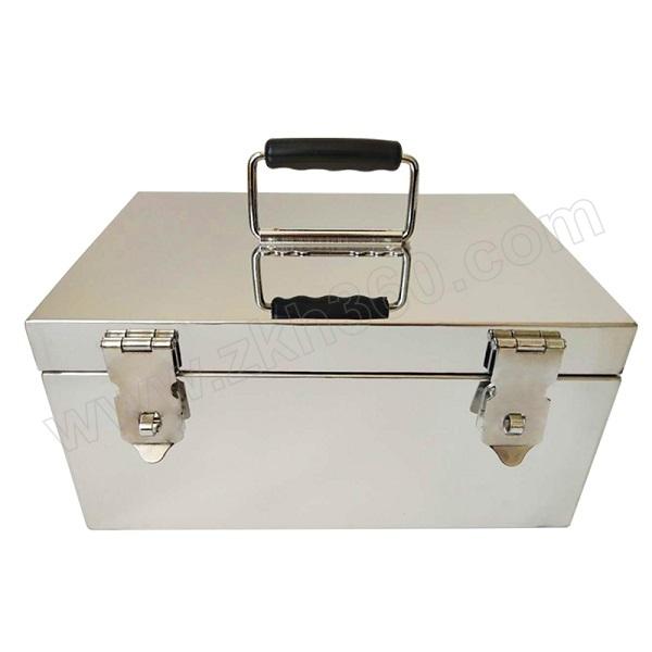 BOX CUBIC 不锈钢箱子 B-A2 长18cm 宽12cm 高12cm 顶部拉手正面双锁扣 1个