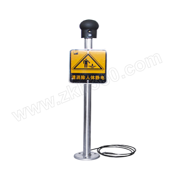 CNFB/桥防 8615系列不锈钢人体静电释放仪 T88615-02-304 1m 1个