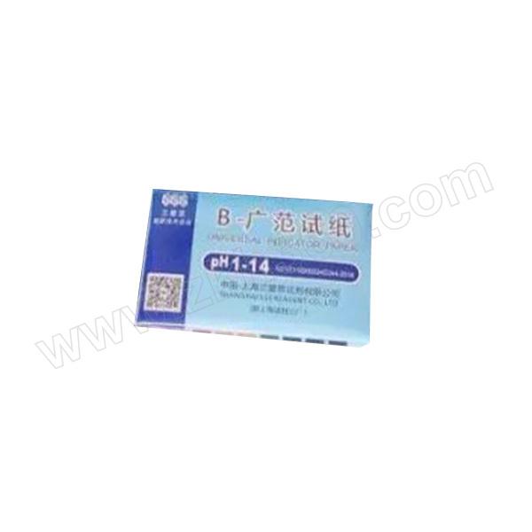 SANAISI/三爱思 广范pH试纸 80277967 PH1-14 80张 1本