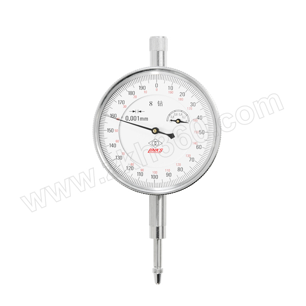 HMCT/哈量 机械式千分表 803-01 0~1mm 0.001mm 1级 1块