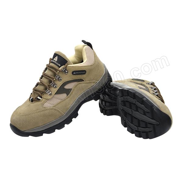 DELTA/代尔塔 PERTUIS户外系列低帮翻毛皮安全鞋 301305 37码 米色 防砸防静电防刺穿 橡胶大底 1双