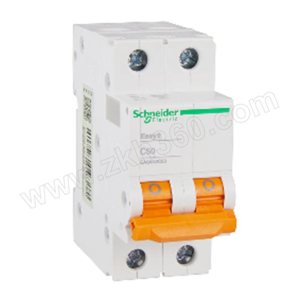 SCHNEIDER/施耐德电气 EA9AN 小型断路器 EA9AN-C50A/2P 1个