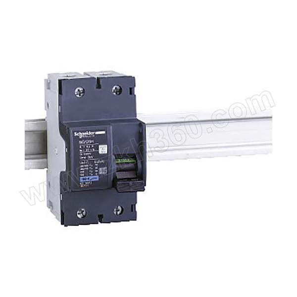SCHNEIDER/施耐德电气 NG125H系列小型断路器 NG125H-C16A/2P 1个