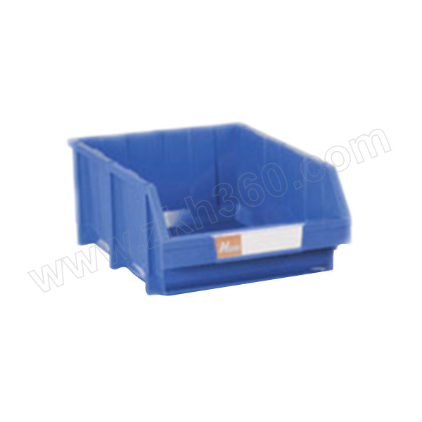 HQ/环球 加强型组立零件盒 TSL4530B(A4530) 外尺寸450×300×180mm 内尺寸405×270×170mm 蓝色(含1张标签纸 1个透明标签盖 4根立柱) 1个