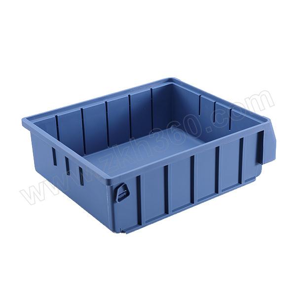 HQ/环球 分隔式零件盒 3023 外尺寸300×234×90mm 内尺寸256×211×80mm 蓝色(含1张标签纸 1个透明标签盖) 1个