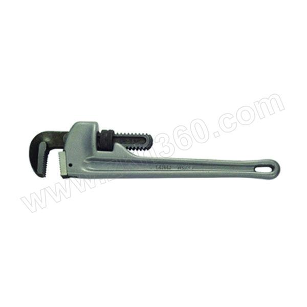"""SATA/世达 铝合金管子钳 SATA-70825 350mm/14"""" 1把"""