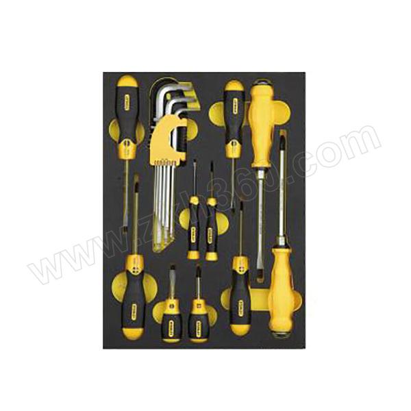 STANLEY/史丹利 工具托-公制紧固工具组套(19件) LT-029-23 19件 1套