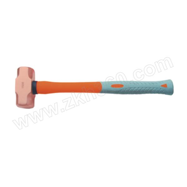 CNFB/桥防 2201A系列紫铜塑柄八角锤 T82201A-10 5磅 1把