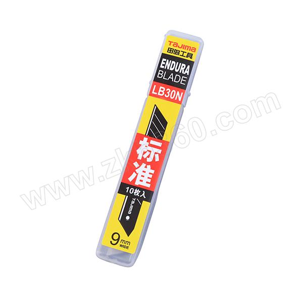 TAJIMA/田岛 A型标准型替刃 1102-0198 9MM 简装(1片黑刃+9片银刃) 1组