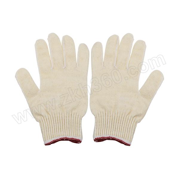 AIWIN C-Ruf 加涤耐磨作业手套 10453 10针 600g/打 红白口 长度 22.5±0.5cm 高质棉 70% 和高弹丝 耐磨 混纺 12副 1打