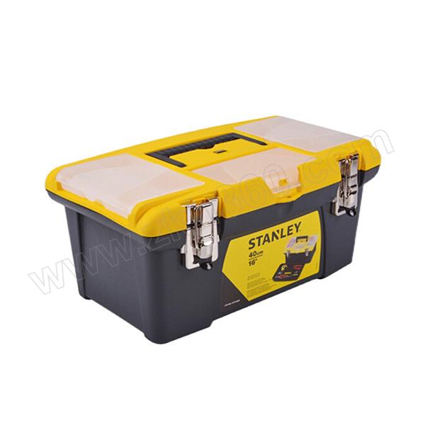"""STANLEY/史丹利 JUMBO塑料工具箱 STST19028-8-23 19"""" 485×270×240mm 1只"""
