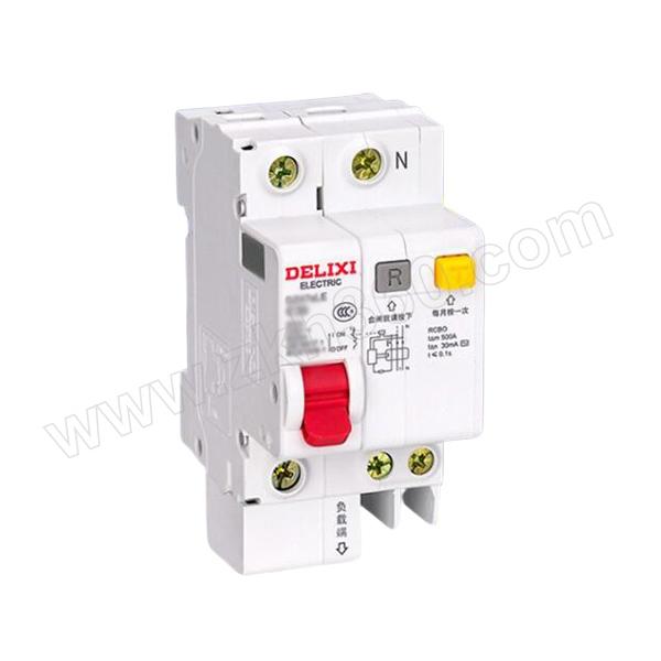 DELIXI/德力西 DZ47sLE小型漏电断路器 DZ47sLE 1P+N C 50A  过压 1个