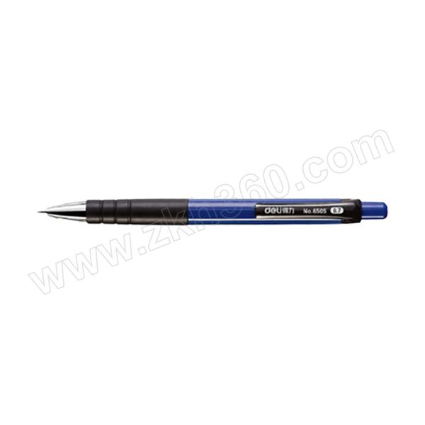 DELI/得力 按动圆珠笔 6505 0.7mm 蓝色 1支
