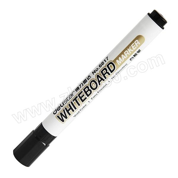 DELI/得力 优逸白板笔 6817 2.0mm 黑色 1支