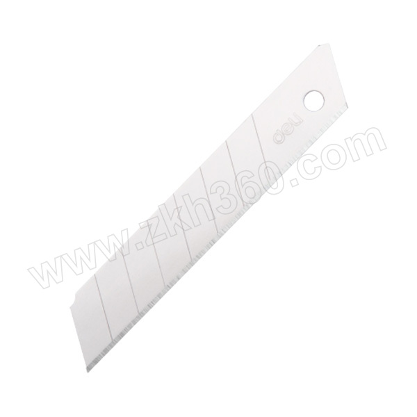 DELI/得力 大号美工刀片 2011 18mm 10片装 1盒