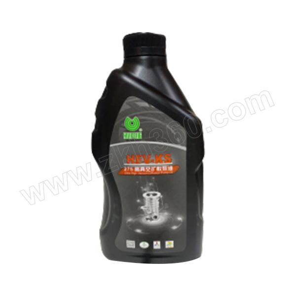 HUIFENG/惠丰 高真空扩散泵油 HFV-KS-275-1Kg 1桶