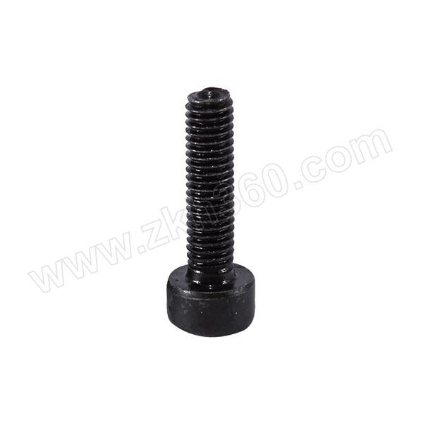 ZKH/震坤行 GB70.1 内六角圆柱头螺钉 碳钢 8.8级 发黑 全牙 302045003000600100 M3×6 粗牙 1个