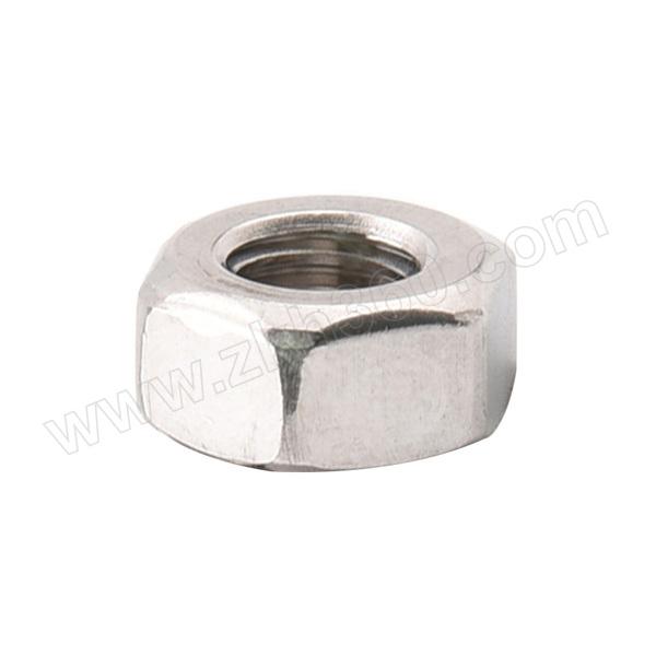 ZKH/震坤行 DIN934 六角螺母 不锈钢304 A2-70 本色 211934005000000000 M5 粗牙 1个