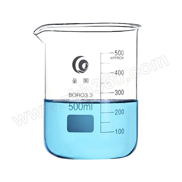 LEIGU/垒固 玻璃烧杯 B-000131 500mL 1只