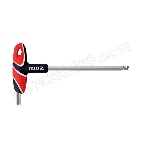YATO/易尔拓 T型球头内六角扳手 YT-05591 6mm 1支