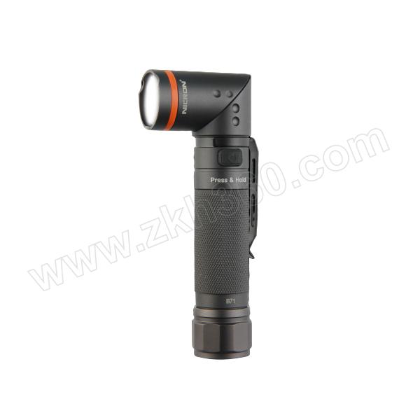 NICRON/耐朗 USB直充磁吸可转角手电筒 无极调光(含电池) B71 1套