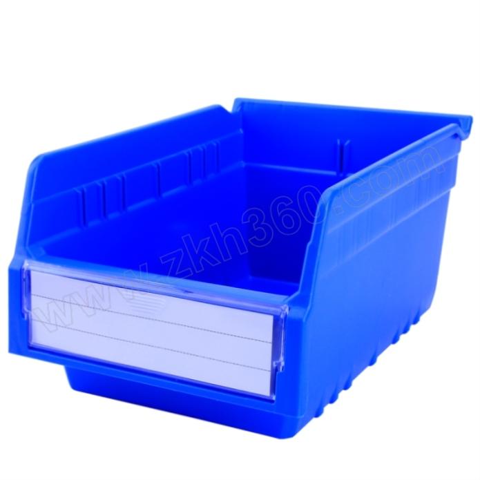 TRIPOD KING/鼎王 精益物料盒 TK3215 外尺寸300×200×150mm 内尺寸280×178×88mm 蓝色 1个