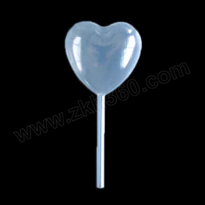 ICEY/冰禹 ZHll-133系列一次性塑料滴管 4mL心形吸管 50个 1包